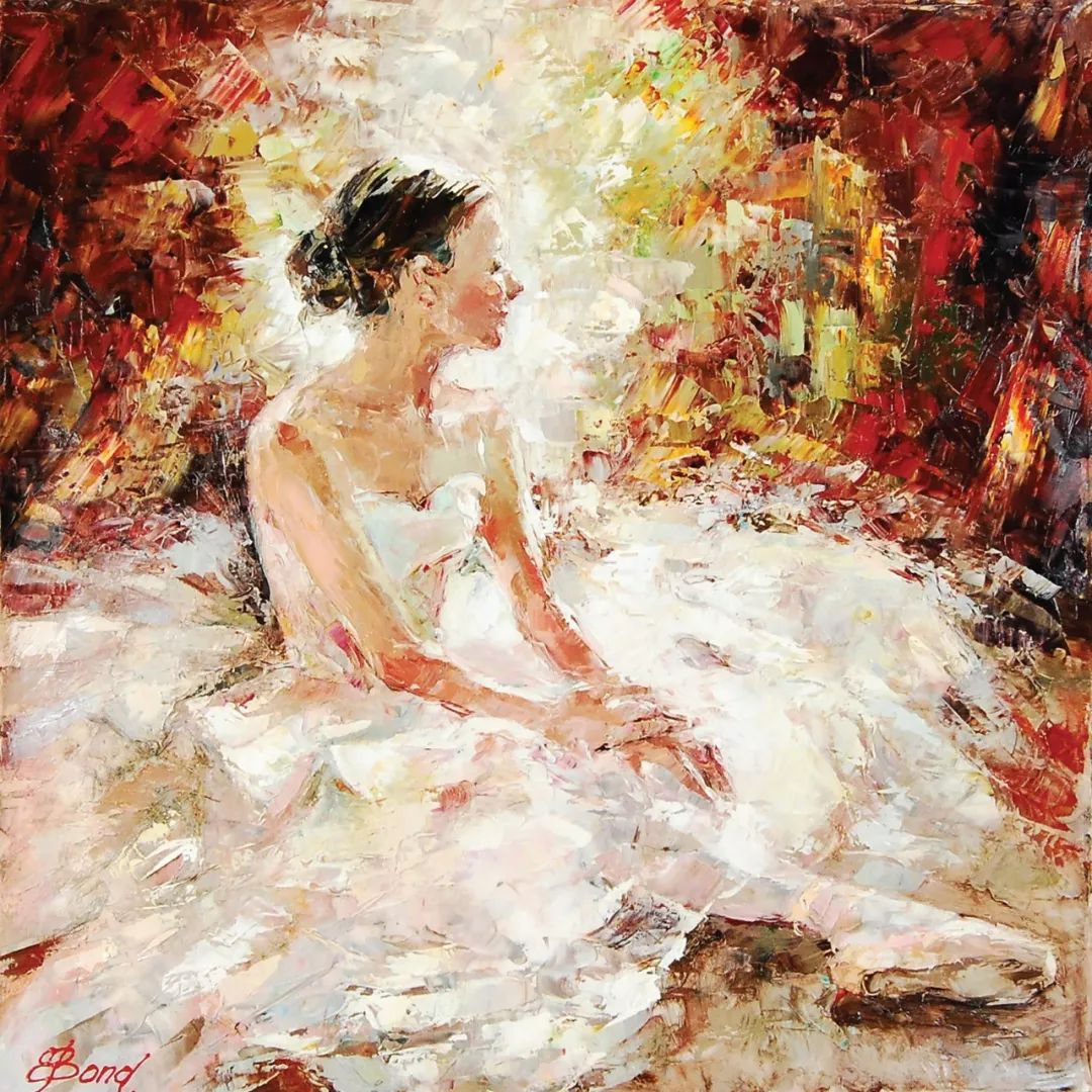 三位画家对女性的美诠释:或温婉含蓄,或妩媚娇艳,或律动健康插图29
