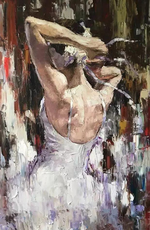 三位画家对女性的美诠释:或温婉含蓄,或妩媚娇艳,或律动健康插图30