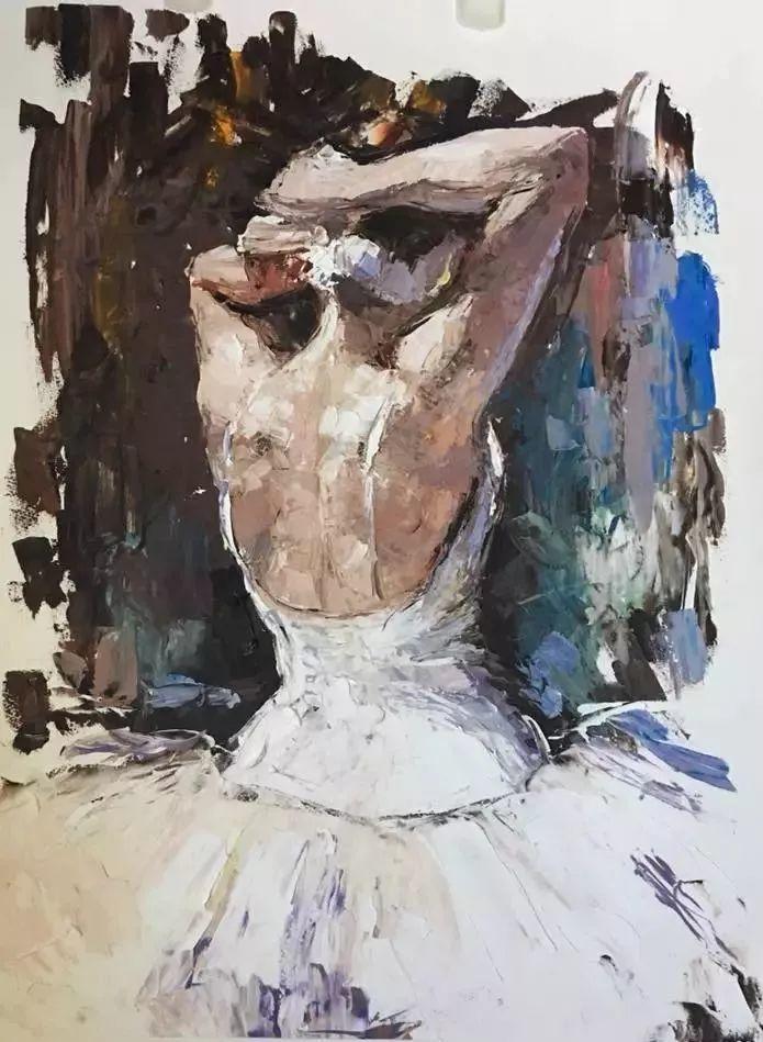 三位画家对女性的美诠释:或温婉含蓄,或妩媚娇艳,或律动健康插图31