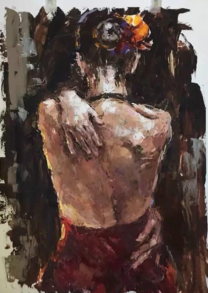 三位画家对女性的美诠释:或温婉含蓄,或妩媚娇艳,或律动健康插图33