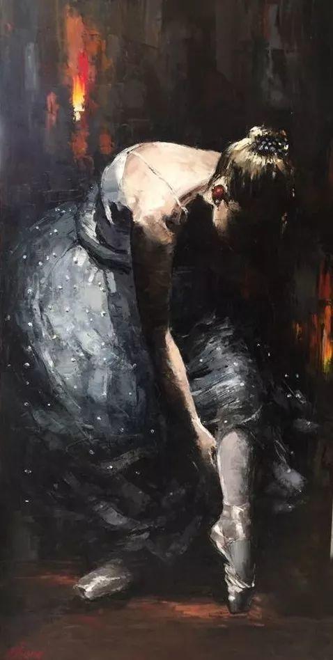 三位画家对女性的美诠释:或温婉含蓄,或妩媚娇艳,或律动健康插图36