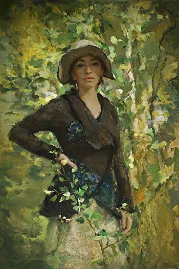 三位画家对女性的美诠释:或温婉含蓄,或妩媚娇艳,或律动健康插图39