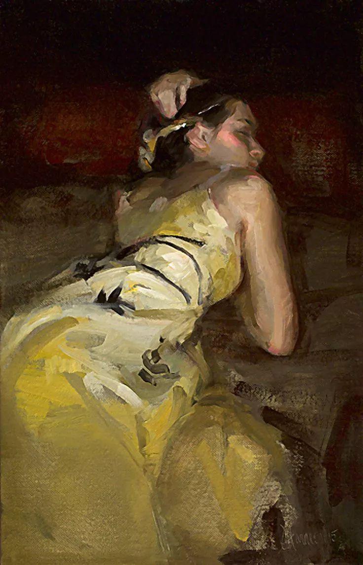三位画家对女性的美诠释:或温婉含蓄,或妩媚娇艳,或律动健康插图40