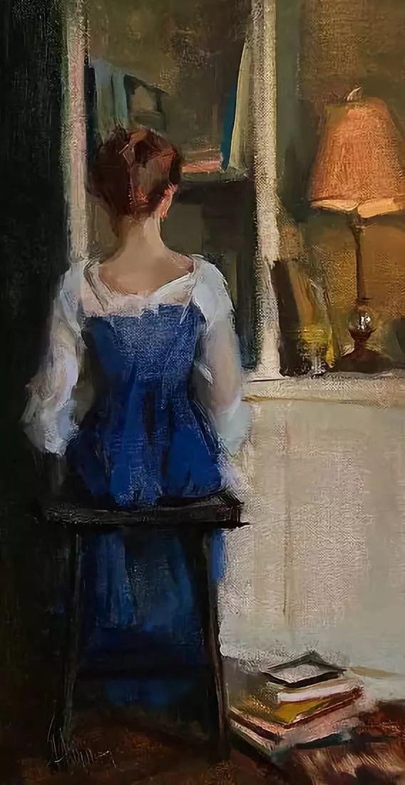 三位画家对女性的美诠释:或温婉含蓄,或妩媚娇艳,或律动健康插图42