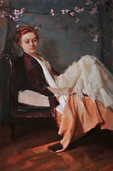 三位画家对女性的美诠释:或温婉含蓄,或妩媚娇艳,或律动健康插图44
