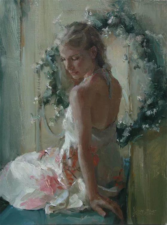 三位画家对女性的美诠释:或温婉含蓄,或妩媚娇艳,或律动健康插图45