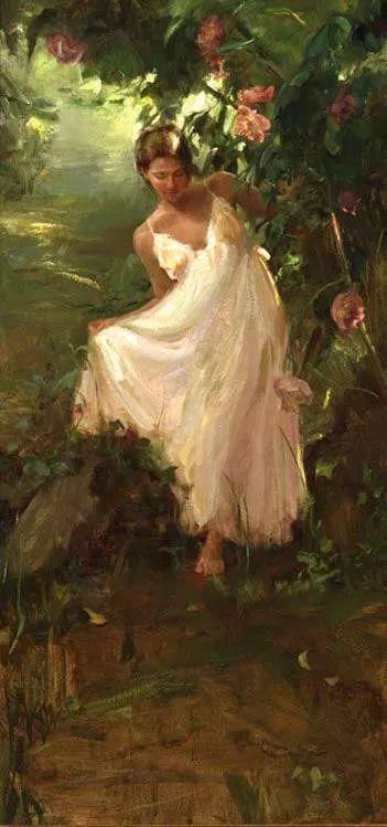 三位画家对女性的美诠释:或温婉含蓄,或妩媚娇艳,或律动健康插图49