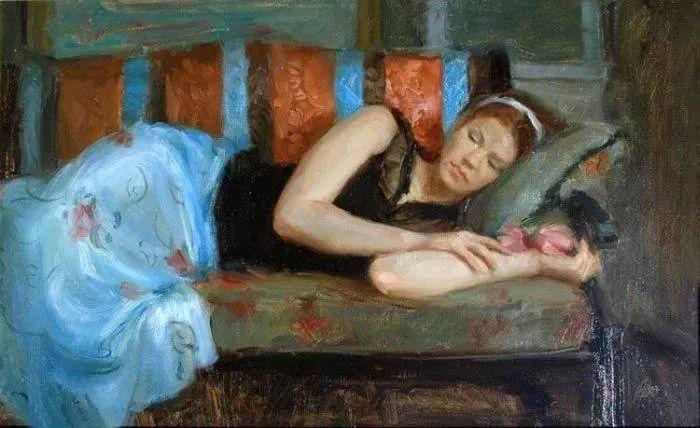 三位画家对女性的美诠释:或温婉含蓄,或妩媚娇艳,或律动健康插图50