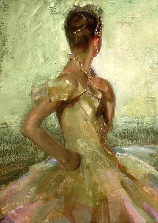 三位画家对女性的美诠释:或温婉含蓄,或妩媚娇艳,或律动健康插图51
