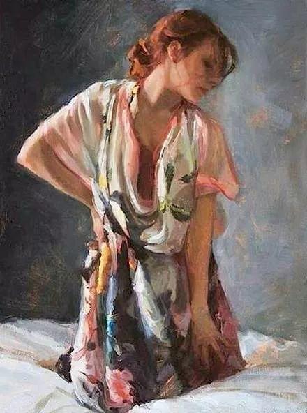 三位画家对女性的美诠释:或温婉含蓄,或妩媚娇艳,或律动健康插图53