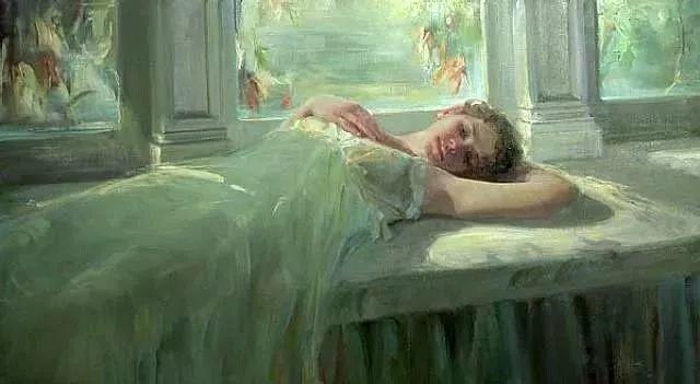 三位画家对女性的美诠释:或温婉含蓄,或妩媚娇艳,或律动健康插图54