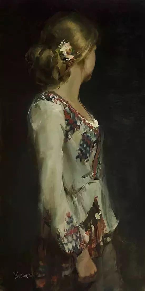 三位画家对女性的美诠释:或温婉含蓄,或妩媚娇艳,或律动健康插图57