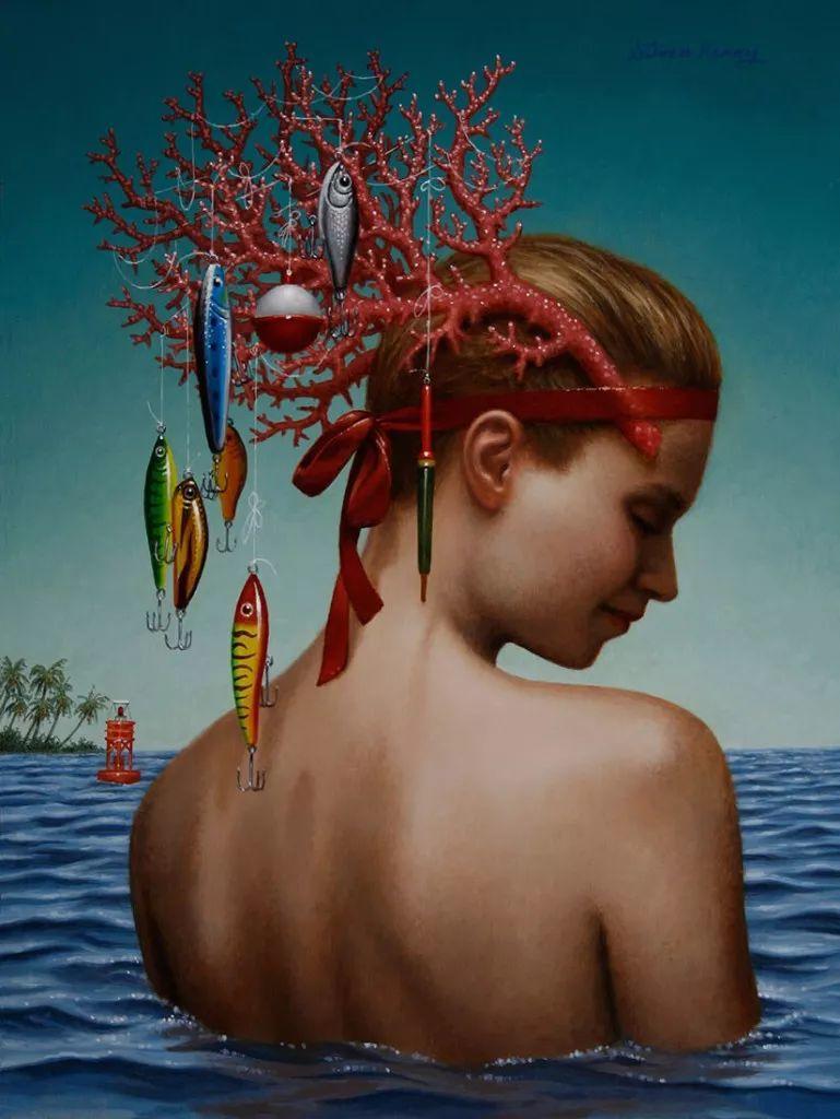 脑洞大开,美国画家Steven Kenny作品欣赏插图6