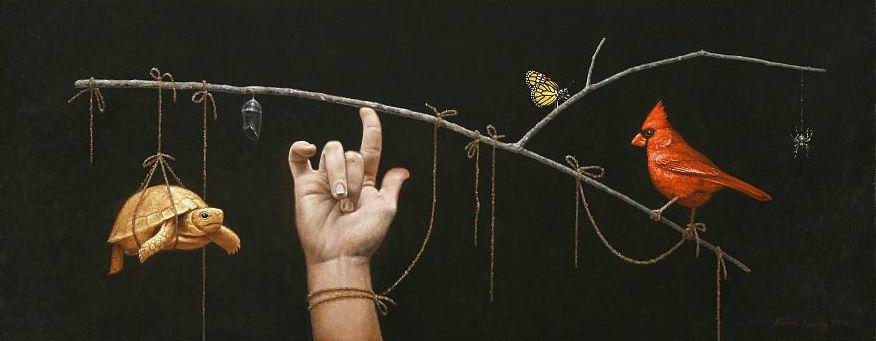 脑洞大开,美国画家Steven Kenny作品欣赏插图10