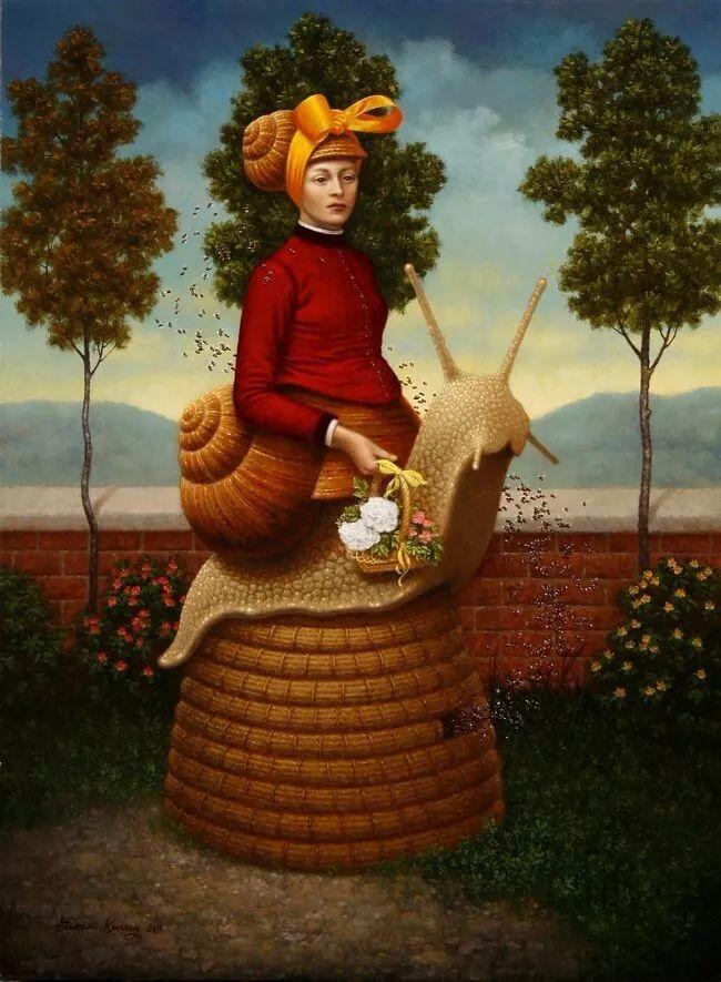 脑洞大开,美国画家Steven Kenny作品欣赏插图16