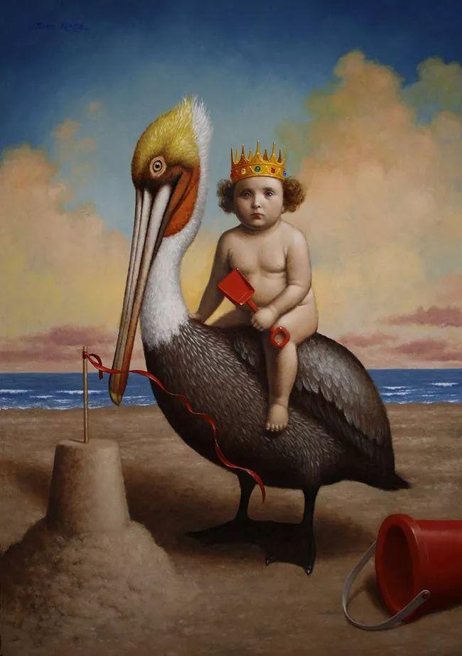 脑洞大开,美国画家Steven Kenny作品欣赏插图18