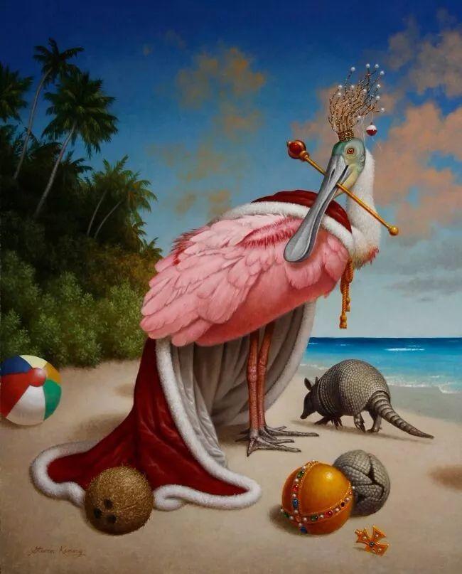 脑洞大开,美国画家Steven Kenny作品欣赏插图19