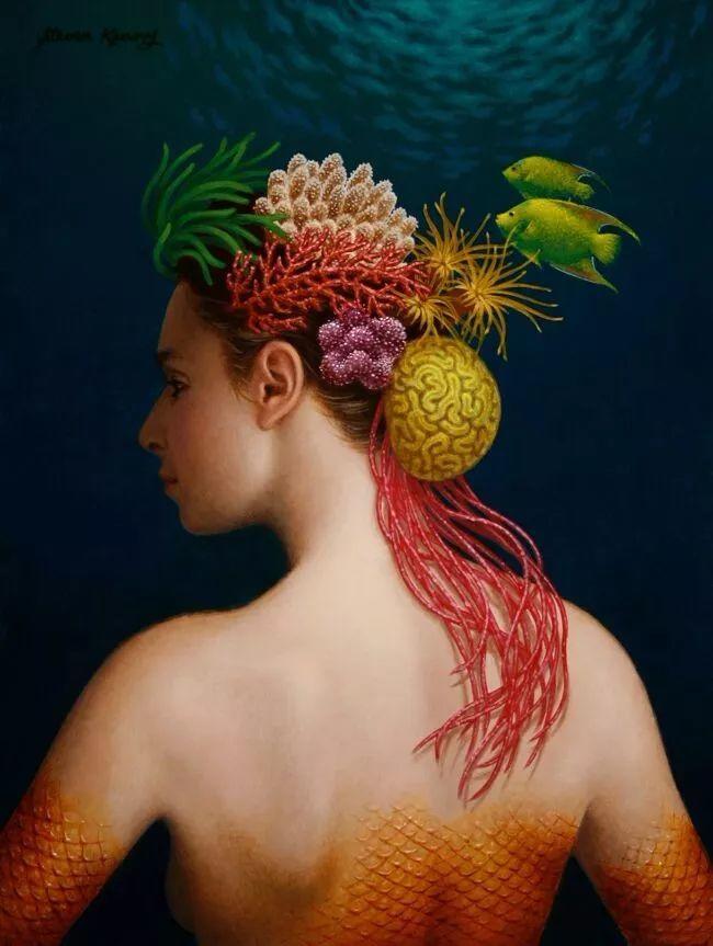 脑洞大开,美国画家Steven Kenny作品欣赏插图20