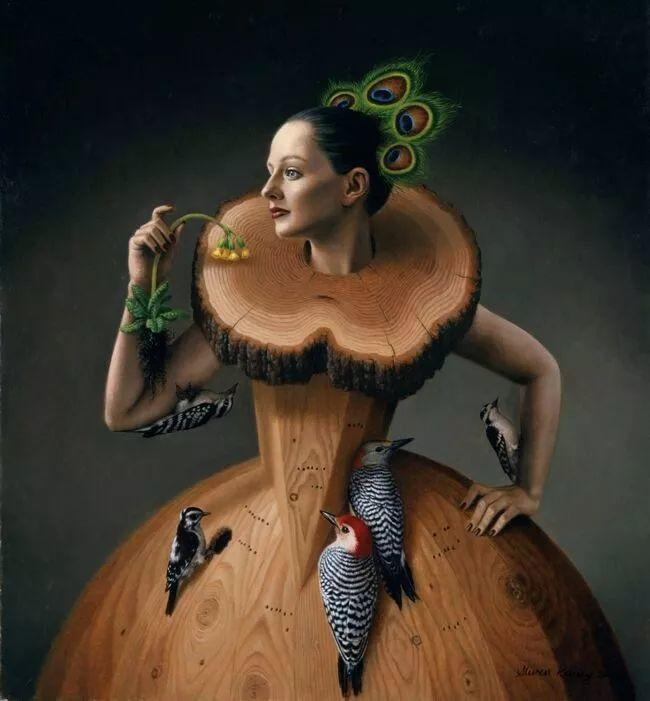 脑洞大开,美国画家Steven Kenny作品欣赏插图23