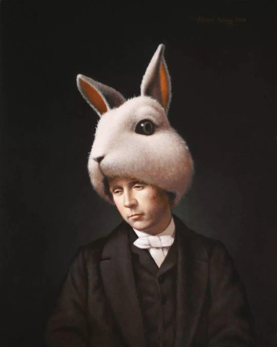 脑洞大开,美国画家Steven Kenny作品欣赏插图25