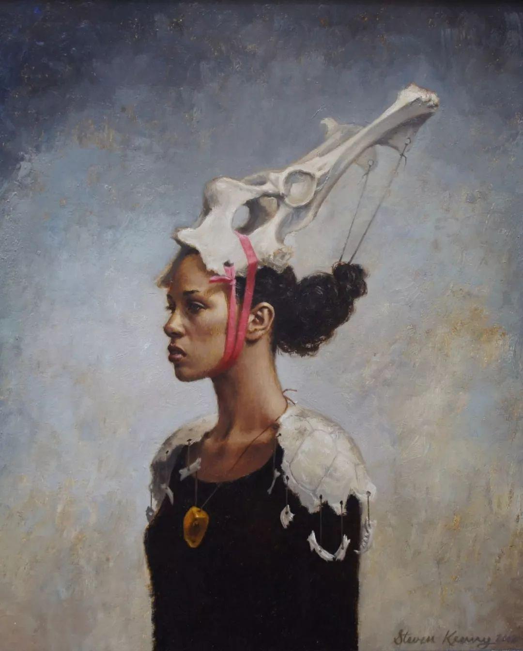 脑洞大开,美国画家Steven Kenny作品欣赏插图26
