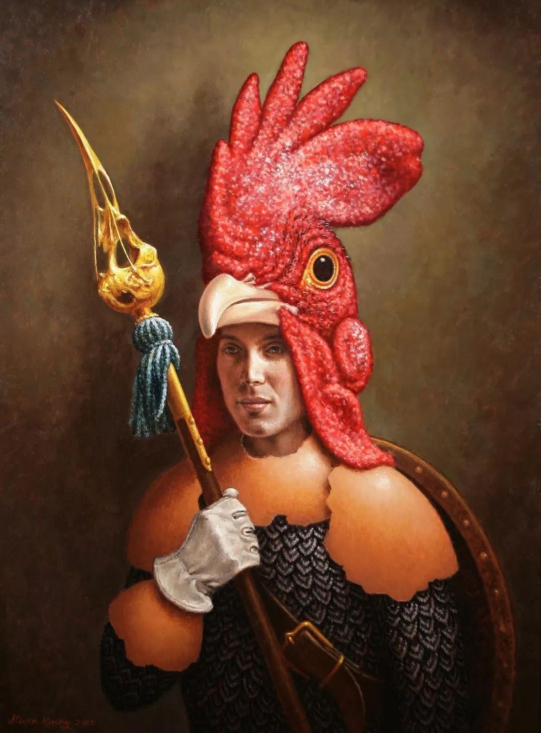 脑洞大开,美国画家Steven Kenny作品欣赏插图27