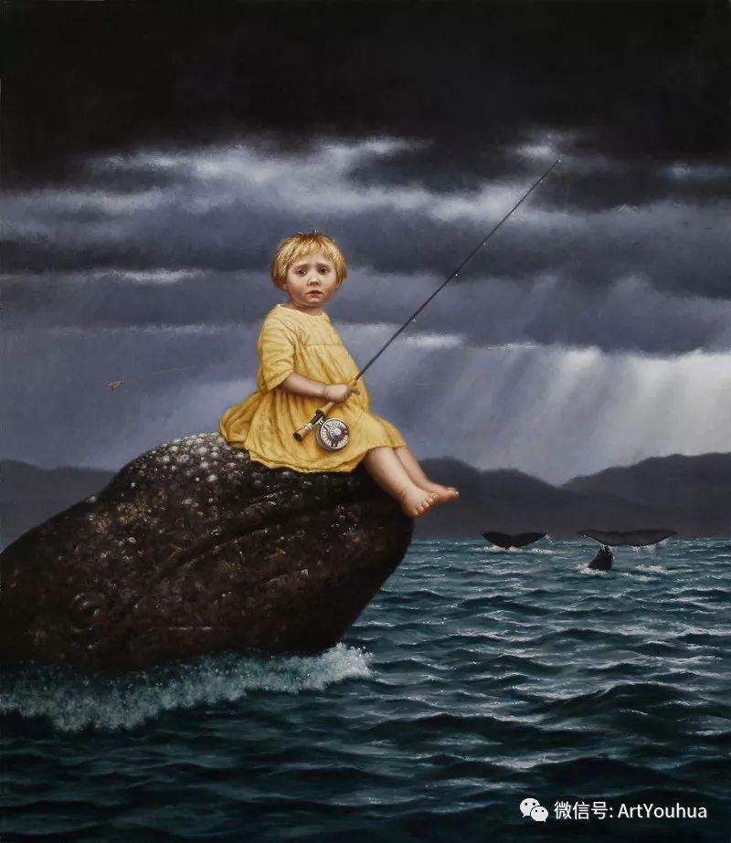 脑洞大开,美国画家Steven Kenny作品欣赏插图30