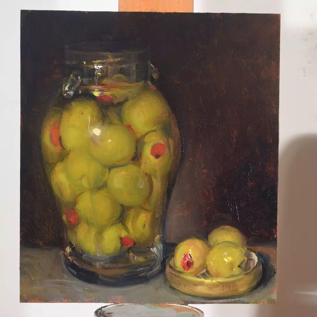 静物油画,每一幅画都栩栩如生灵动写意插图37