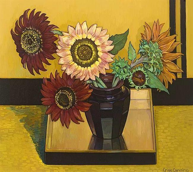 她72岁,画了50多年的画,花儿在她笔下都有了个性!插图4