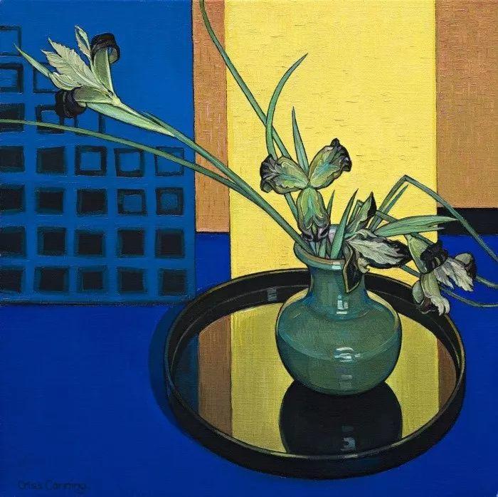 她72岁,画了50多年的画,花儿在她笔下都有了个性!插图9