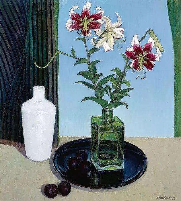 她72岁,画了50多年的画,花儿在她笔下都有了个性!插图15