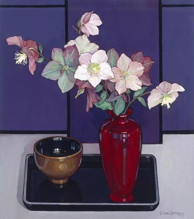 她72岁,画了50多年的画,花儿在她笔下都有了个性!插图17