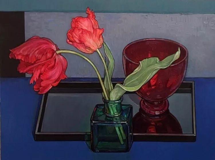 她72岁,画了50多年的画,花儿在她笔下都有了个性!插图22