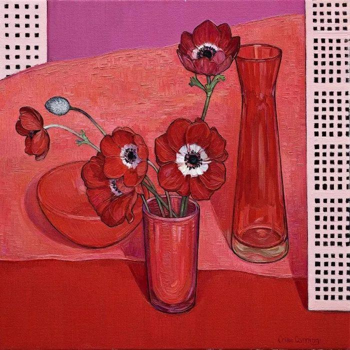 她72岁,画了50多年的画,花儿在她笔下都有了个性!插图23