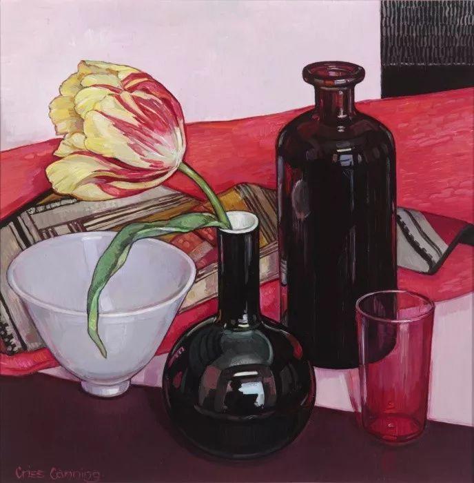 她72岁,画了50多年的画,花儿在她笔下都有了个性!插图25