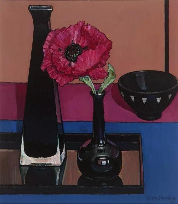 她72岁,画了50多年的画,花儿在她笔下都有了个性!插图26