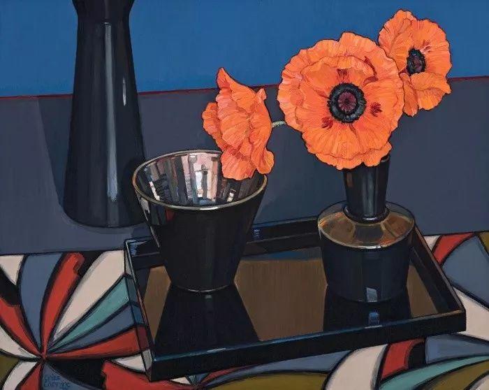 她72岁,画了50多年的画,花儿在她笔下都有了个性!插图32