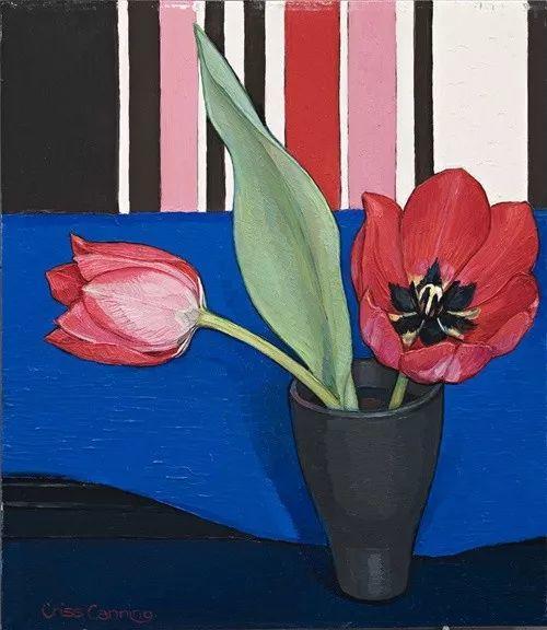 她72岁,画了50多年的画,花儿在她笔下都有了个性!插图33