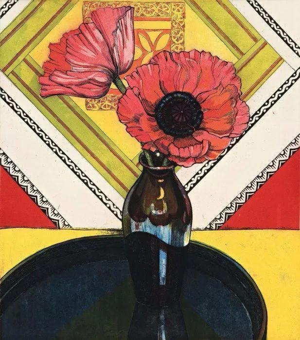她72岁,画了50多年的画,花儿在她笔下都有了个性!插图36