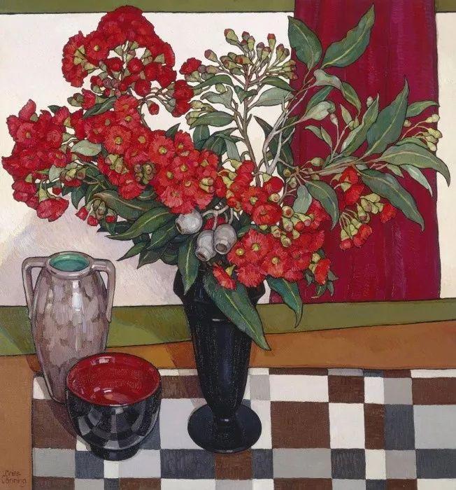 她72岁,画了50多年的画,花儿在她笔下都有了个性!插图38