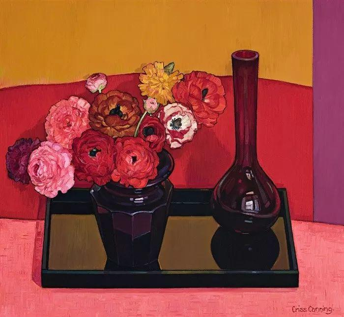 她72岁,画了50多年的画,花儿在她笔下都有了个性!插图39
