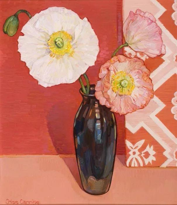 她72岁,画了50多年的画,花儿在她笔下都有了个性!插图41