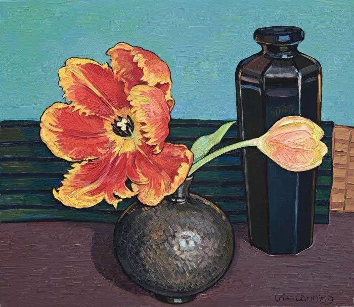 她72岁,画了50多年的画,花儿在她笔下都有了个性!插图42