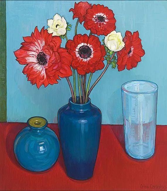 她72岁,画了50多年的画,花儿在她笔下都有了个性!插图43