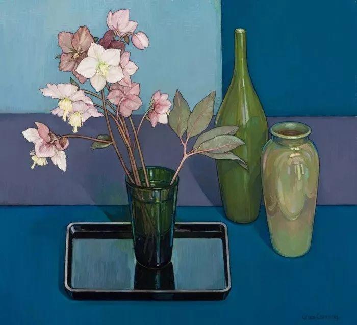她72岁,画了50多年的画,花儿在她笔下都有了个性!插图44