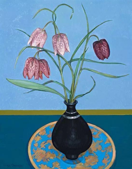 她72岁,画了50多年的画,花儿在她笔下都有了个性!插图45