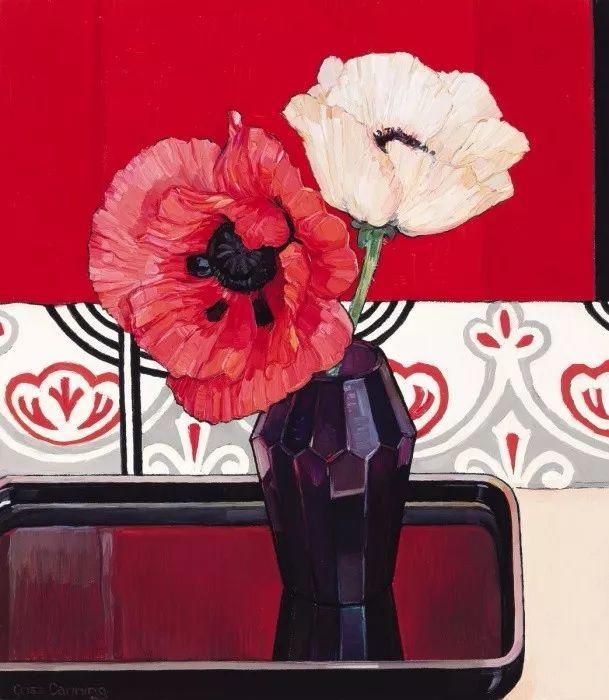 她72岁,画了50多年的画,花儿在她笔下都有了个性!插图49