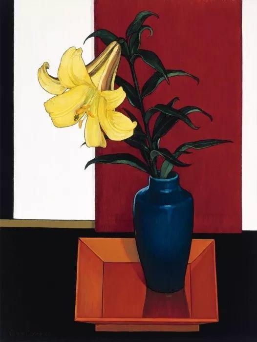 她72岁,画了50多年的画,花儿在她笔下都有了个性!插图51