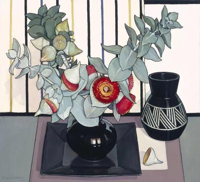 她72岁,画了50多年的画,花儿在她笔下都有了个性!插图54