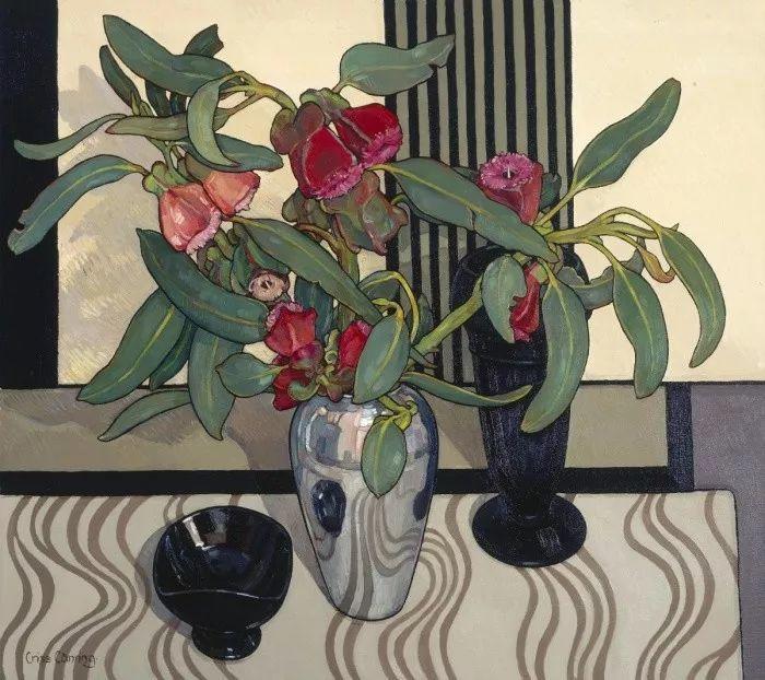她72岁,画了50多年的画,花儿在她笔下都有了个性!插图56